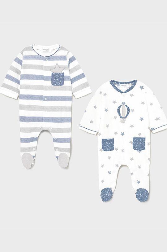 winogronowy Mayoral Newborn - Śpioszki niemowlęce (2-PACK) Chłopięcy