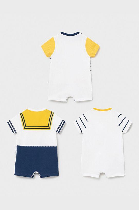 Mayoral Newborn - Body dziecięce (3-PACK) żółty