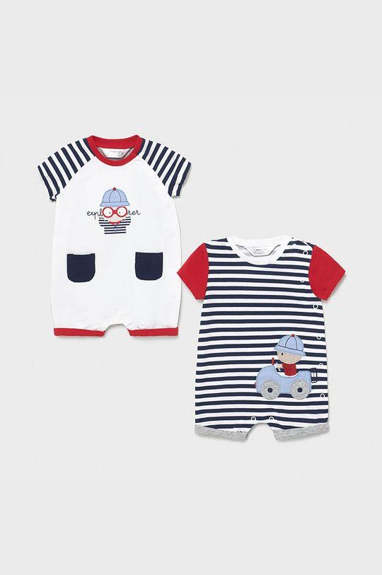 czerwony Mayoral Newborn - Śpioszki niemowlęce (2-pack) Chłopięcy