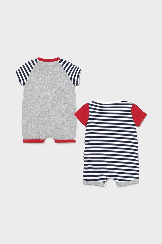 Mayoral Newborn - Śpioszki niemowlęce (2-pack) czerwony