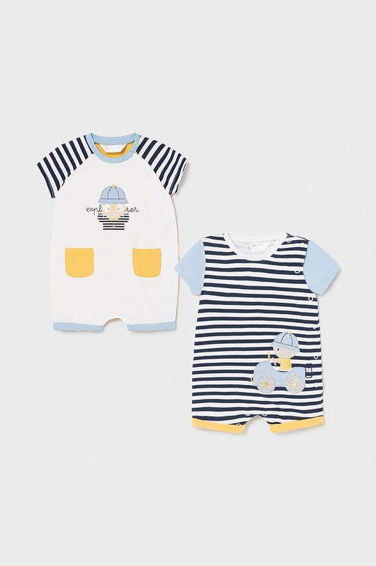 jasny niebieski Mayoral Newborn - Śpioszki niemowlęce (2-pack) Chłopięcy