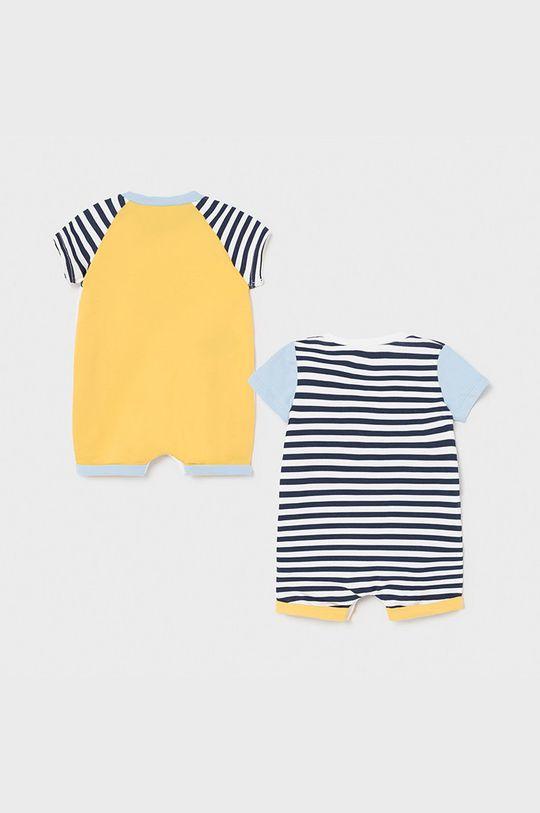 Mayoral Newborn - Śpioszki niemowlęce (2-pack) jasny niebieski
