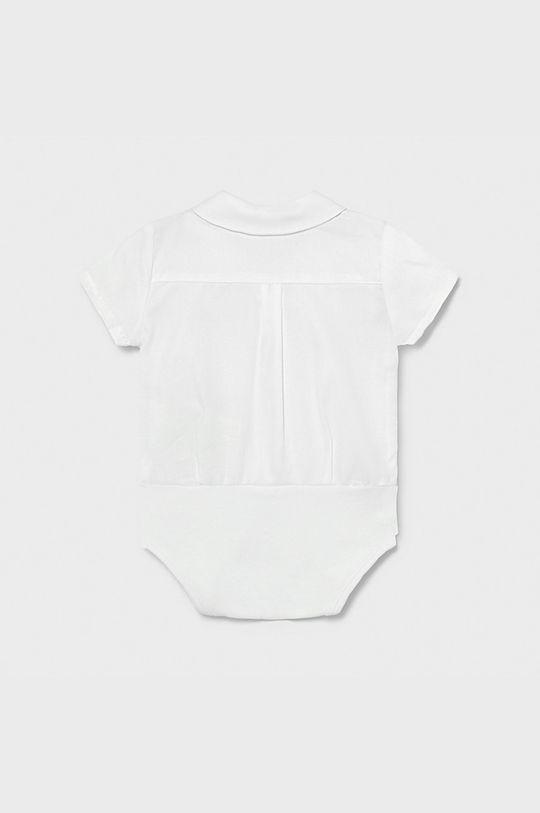 Mayoral Newborn - Body niemowlęce 60-86 cm biały