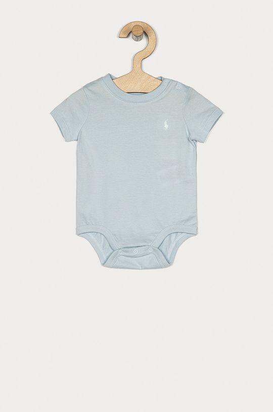 modrá Polo Ralph Lauren - Body pre bábätká 62-80 cm Chlapčenský