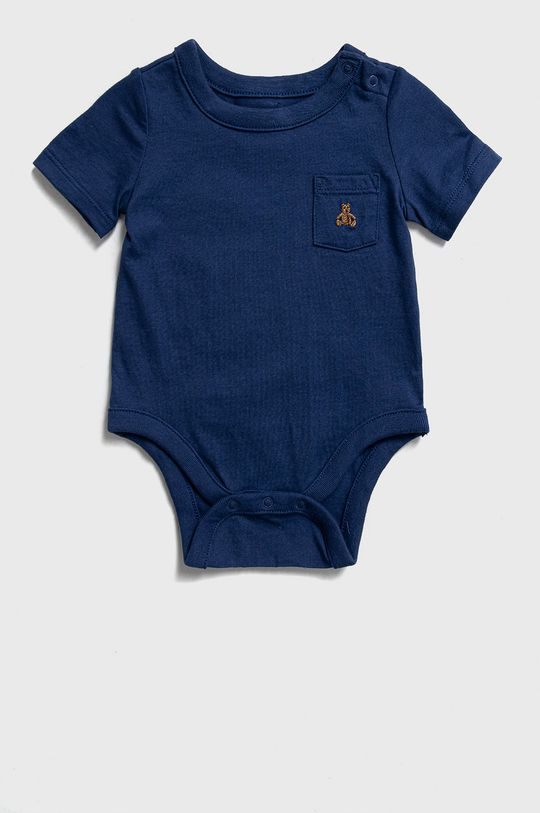 GAP - Body niemowlęce 50-86 cm (3-pack) multicolor