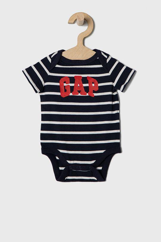szary GAP - Body niemowlęce 50-86 cm (3-pack) Chłopięcy