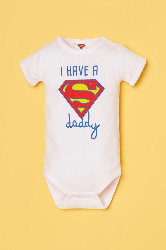 biały OVS - Body niemowlęce Chłopięcy