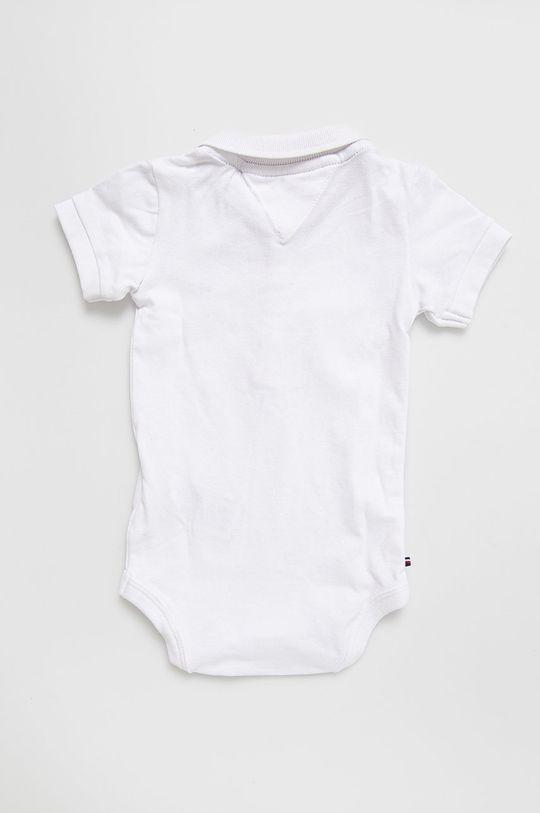 Tommy Hilfiger - Body niemowlęce 56-92 cm 96 % Bawełna, 4 % Elastan