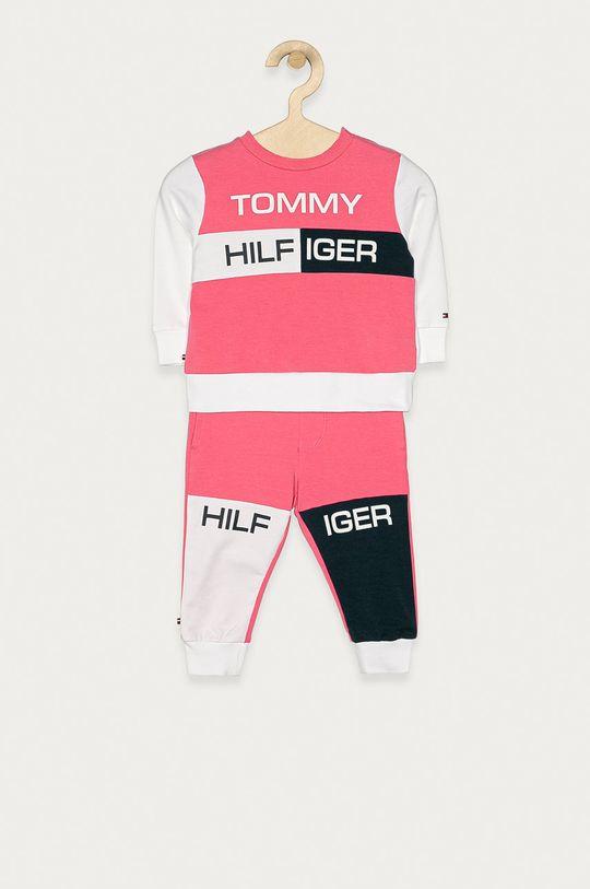 bledofialový Tommy Hilfiger - Detská tepláková súprava 68-92 cm Chlapčenský