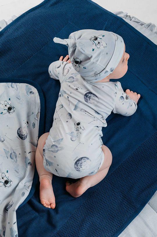 jasny niebieski Jamiks - Body niemowlęce OTIS Chłopięcy
