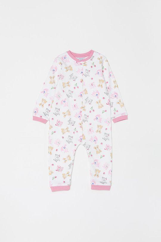 biały OVS - Śpioszki niemowlęce 62-86 cm Dziewczęcy