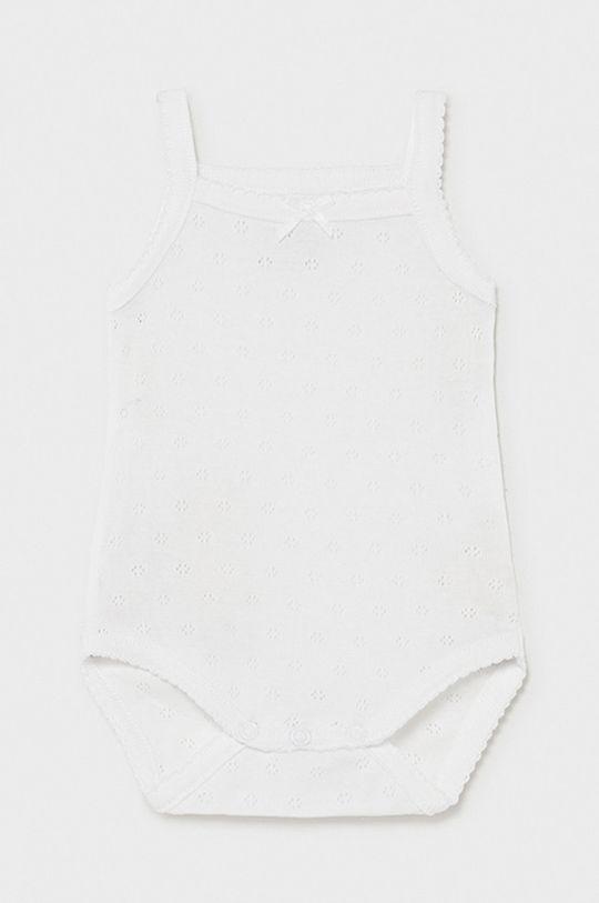 biela Mayoral Newborn - Body pre bábätká Dievčenský