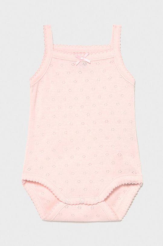 pastelová ružová Mayoral Newborn - Body pre bábätká Dievčenský