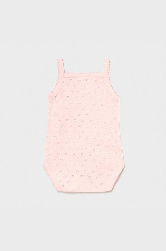 Mayoral Newborn - Body bebe roz pastelat