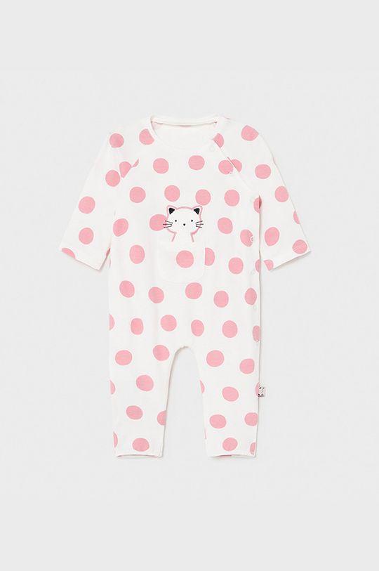 ostry różowy Mayoral Newborn - Śpioszki niemowlęce Dziewczęcy