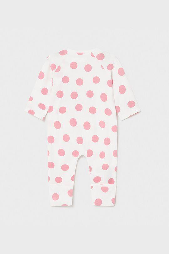 Mayoral Newborn - Śpioszki niemowlęce ostry różowy