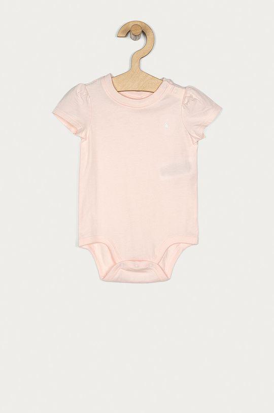 ružová Polo Ralph Lauren - Body pre bábätká 62-80 cm Dievčenský