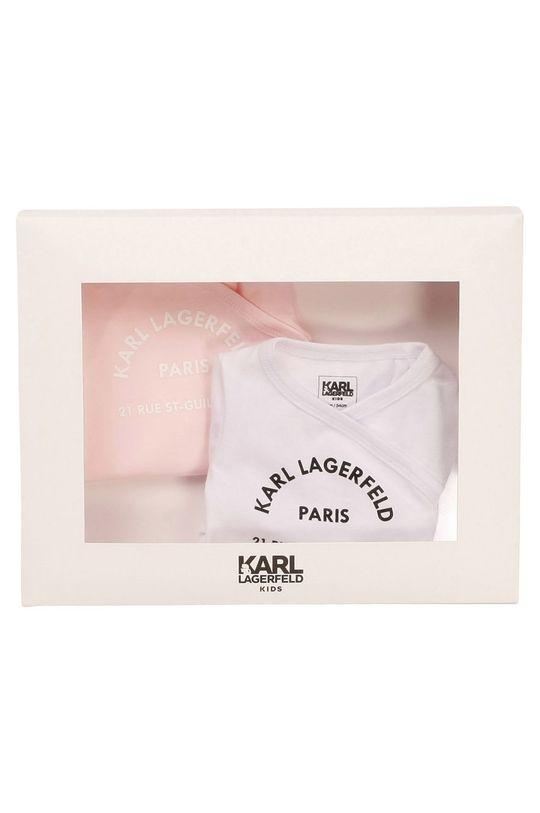 Karl Lagerfeld - Body niemowlęce (2-PACK) biały