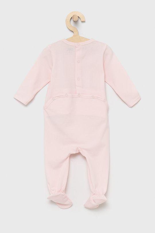 Karl Lagerfeld - Śpioszki niemowlęce pastelowy różowy