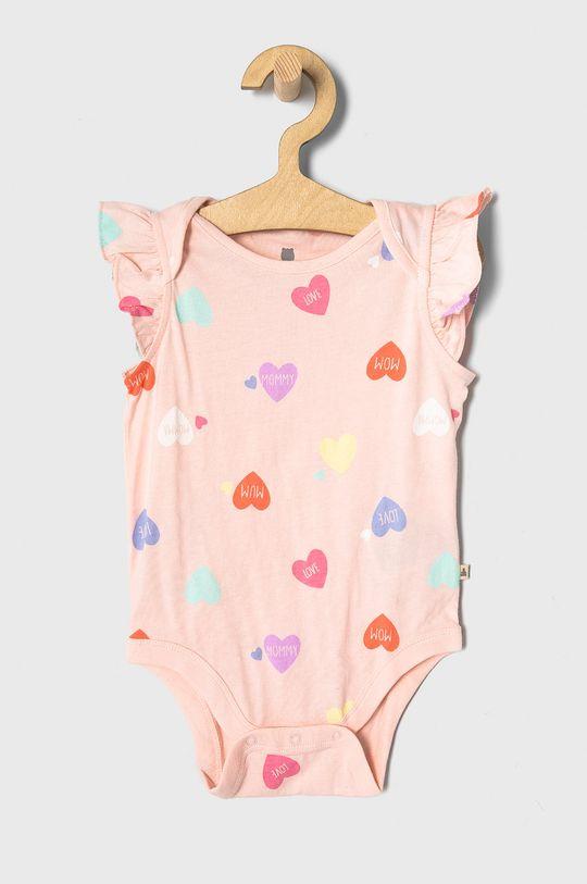pastelowy różowy GAP - Body niemowlęce 50-86 cm Dziewczęcy