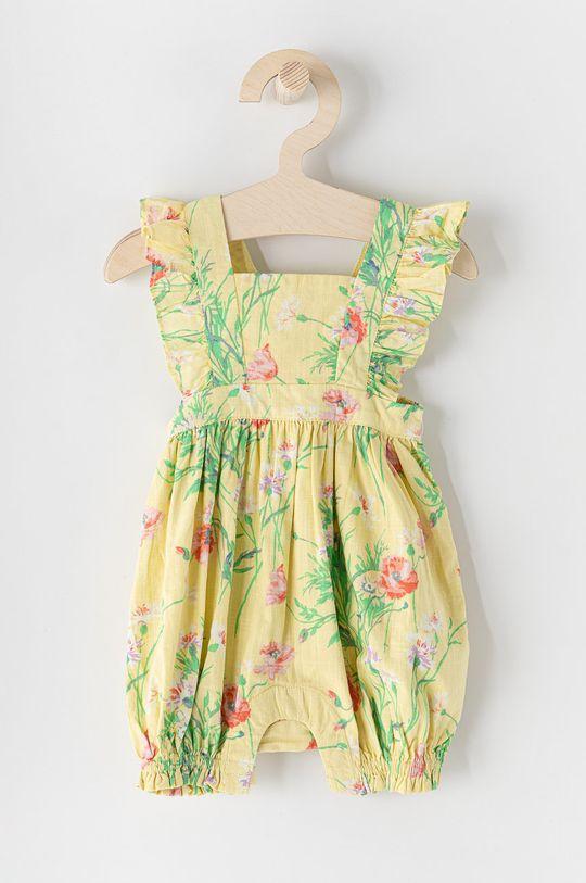 jasny żółty GAP - Kombinezon niemowlęcy Dziewczęcy
