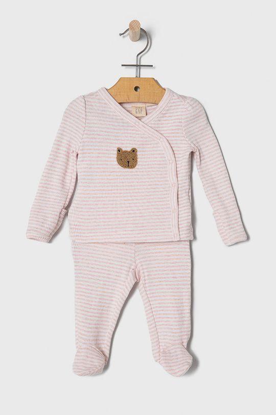 pastelowy różowy GAP - Komplet niemowlęcy 50-62 cm Dziewczęcy