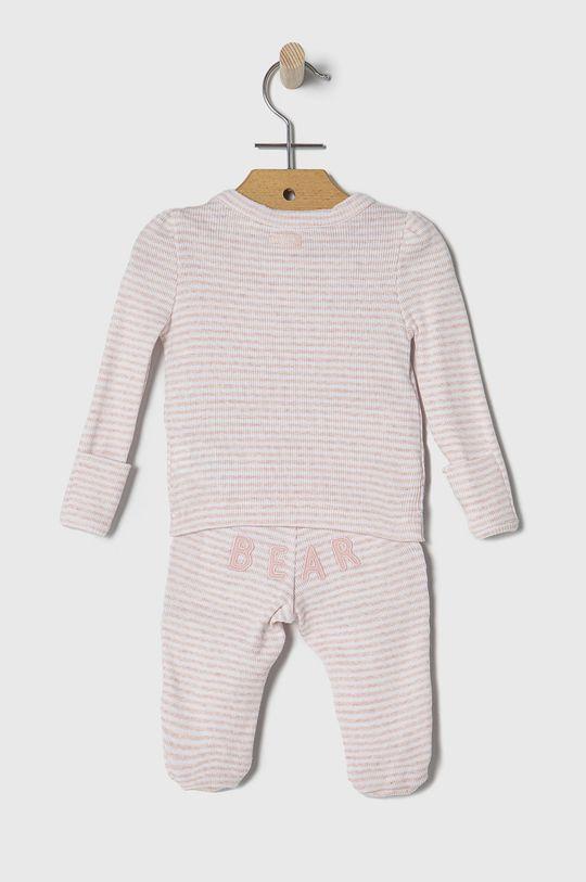 GAP - Komplet niemowlęcy 50-62 cm pastelowy różowy