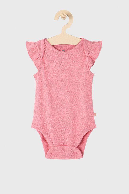 GAP - Body niemowlęce 50-86 cm (3-pack) różowy