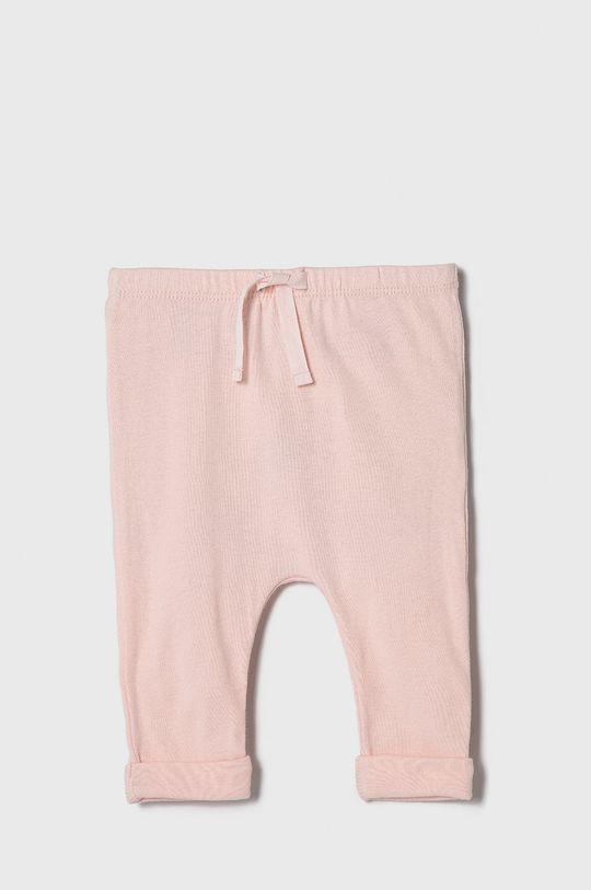 pastelová ružová GAP - Nohavice pre bábätká 50-86 cm Dievčenský