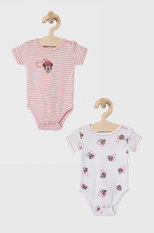 pastelowy różowy OVS - Body niemowlęce (2-PACK) Dziewczęcy