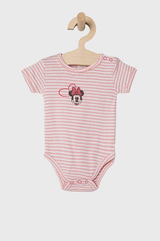 OVS - Body niemowlęce (2-PACK) pastelowy różowy