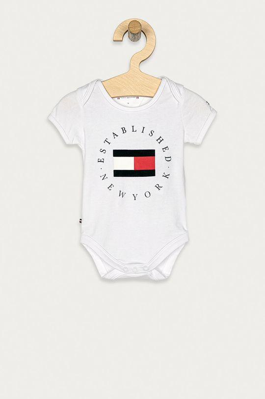 biały Tommy Hilfiger - Body niemowlęce 56-92 cm Dziewczęcy