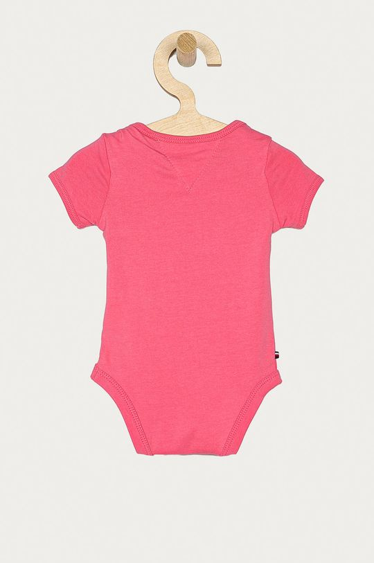 Tommy Hilfiger - Body niemowlęce 56-92 cm 93 % Bawełna organiczna, 7 % Elastan