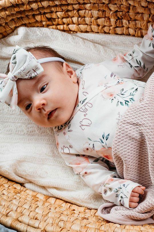 biały Jamiks - Body niemowlęce Malila I 56-68 cm Dziewczęcy