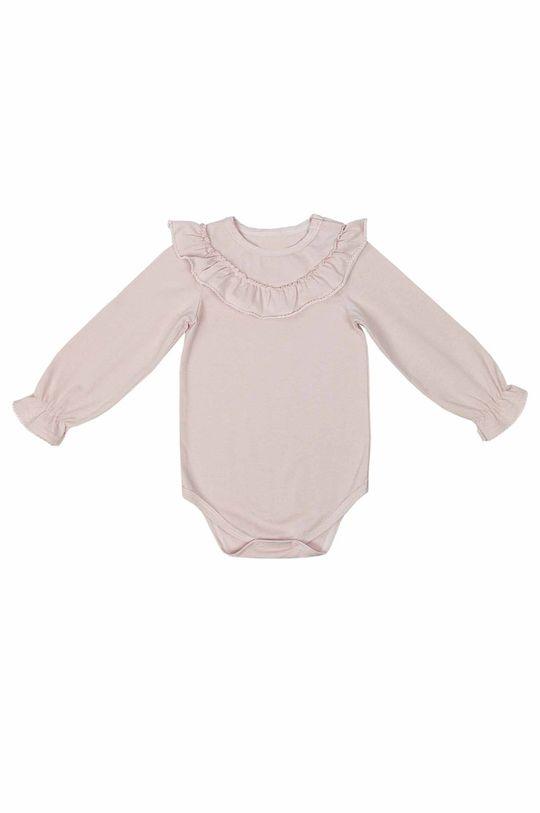 Jamiks - Body niemowlęce MIDRA pastelowy różowy