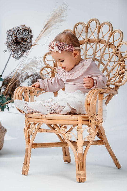 pastelowy różowy Jamiks - Body niemowlęce MIDRA