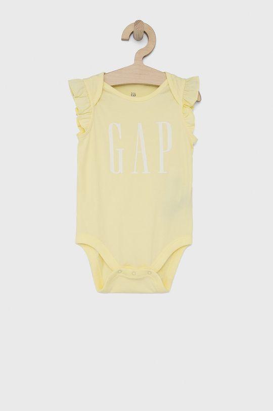 jasně žlutá GAP - Kojenecký overal Dívčí