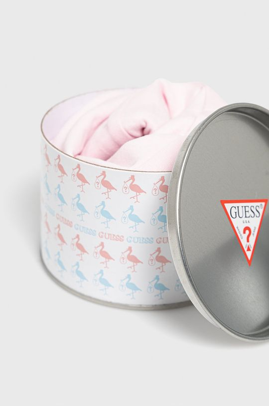 różowy Guess - Śpioszki niemowlęce 62-76 cm