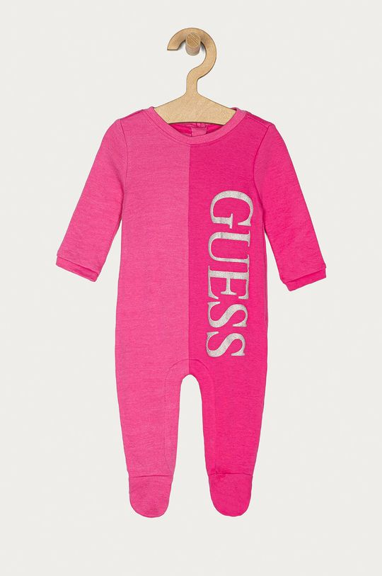 różowy Guess - Śpioszki niemowlęce 62-76 cm Dziecięcy