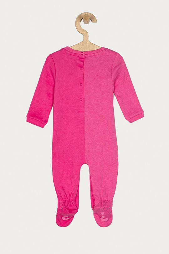 Guess - Śpioszki niemowlęce 62-76 cm różowy