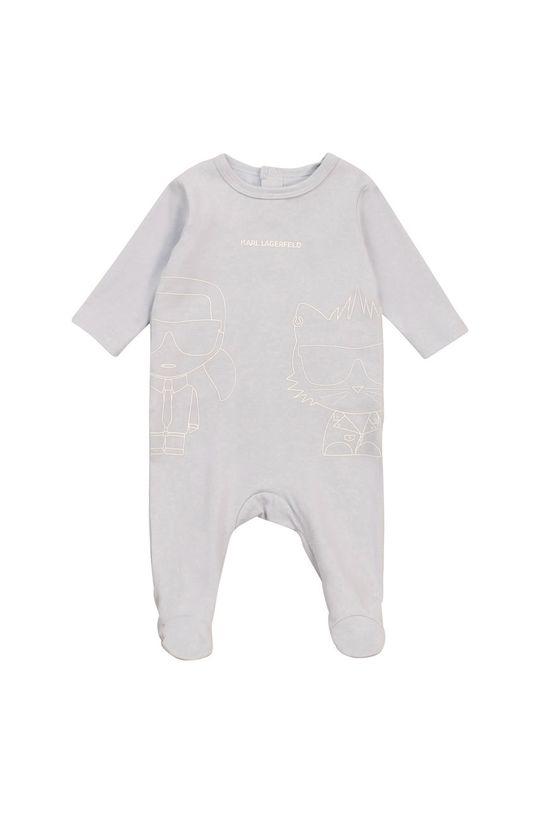 blady niebieski Karl Lagerfeld - Śpioszki niemowlęce Dziecięcy