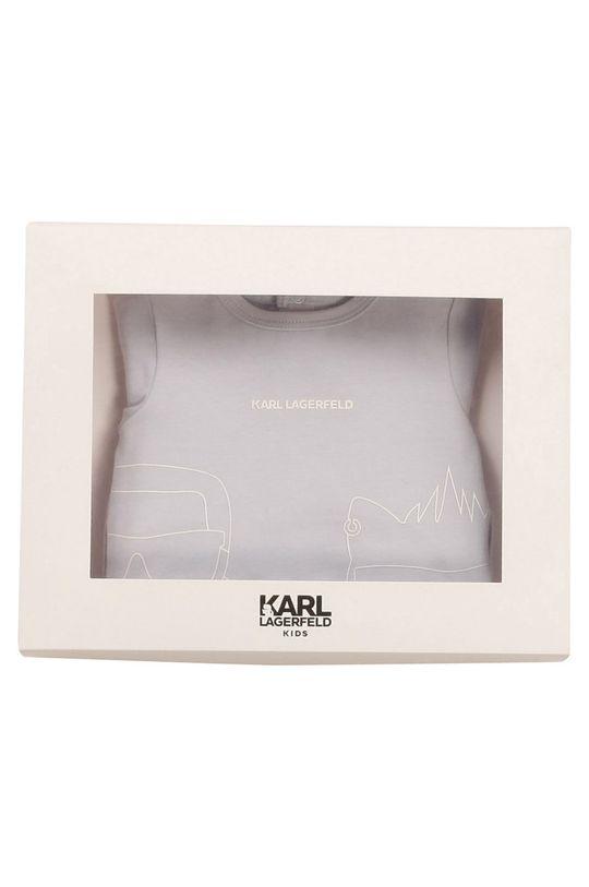Karl Lagerfeld - Śpioszki niemowlęce blady niebieski