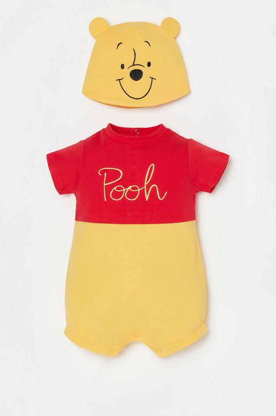 żółty OVS - Czapka i body niemowlęce Dziecięcy