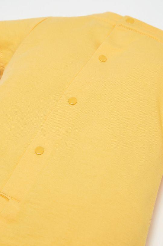 OVS - Czapka i body niemowlęce jasny pomarańczowy