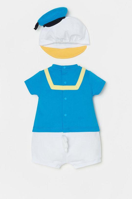 OVS - Czapka i body niemowlęce morski