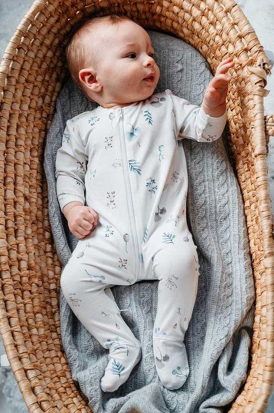 blady niebieski Jamiks - Śpioszki niemowlęce GENUA