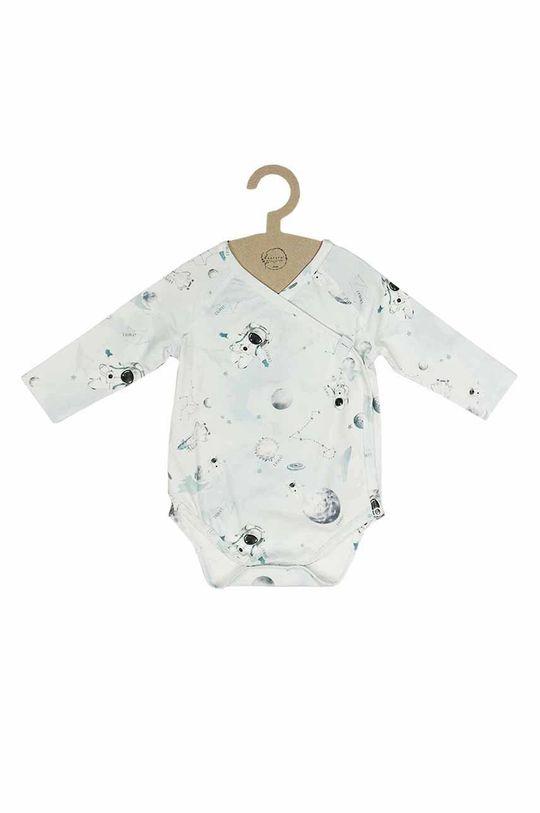 jasny niebieski Jamiks - Body niemowlęce TAO Dziecięcy