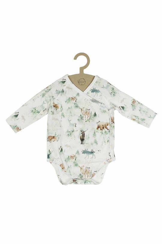 brudny zielony Jamiks - Body niemowlęce TAO Dziecięcy