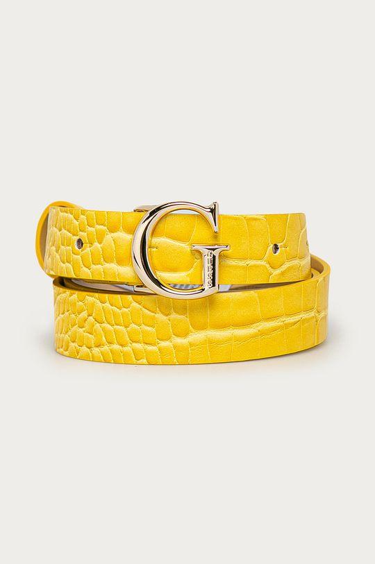 żółty Guess - Pasek Damski