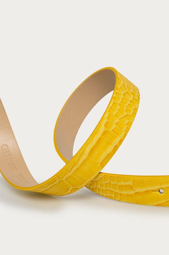 Guess - Pasek żółty